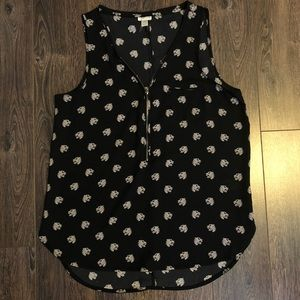 Dynamite Sleeveless Jaguar Top